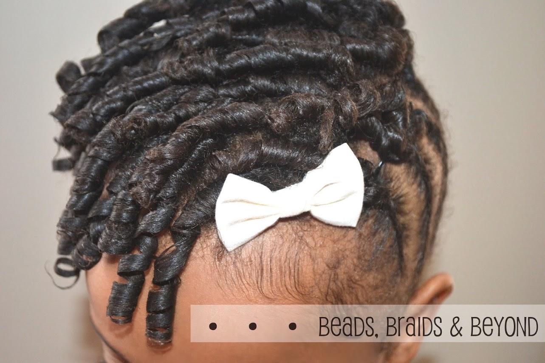 Hairstyle Tutorial pour enfants : tresses collées et torsades