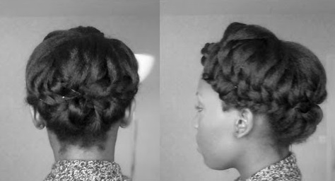 "Hairstyle tutorial : le ""double twisted updo"""