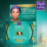 Dark & Lovely Amla Legend Crème de Nuit Régénératrice 1001 Huiles