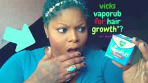 vicks vaporub pousse des cheveux